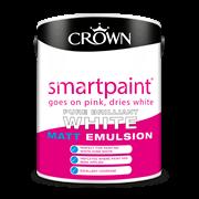 Crown Smart Paint Matt White 5l